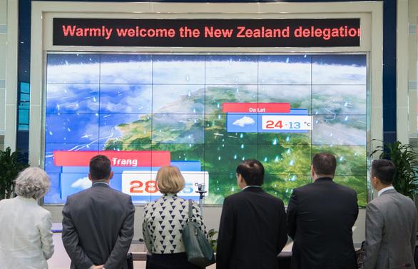Việt Nam hợp tác New Zealand ứng dụng công nghệ dự báo thời tiết mới - Ảnh 1.