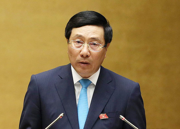Phó thủ tướng Phạm Bình Minh: Đã chuyển thông tin các gia đình báo người thân mất tích cho phía Anh - Ảnh 1.