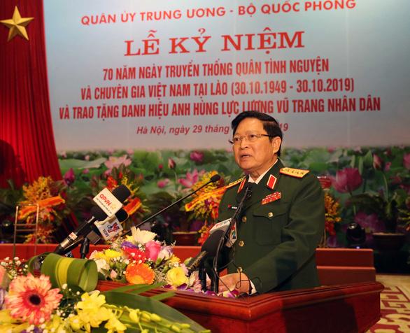 Hợp tác quốc phòng là một trong những trụ cột của quan hệ Việt Nam - Lào - Ảnh 2.