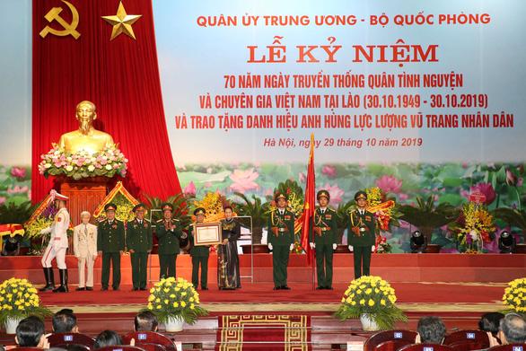 Hợp tác quốc phòng là một trong những trụ cột của quan hệ Việt Nam - Lào - Ảnh 1.