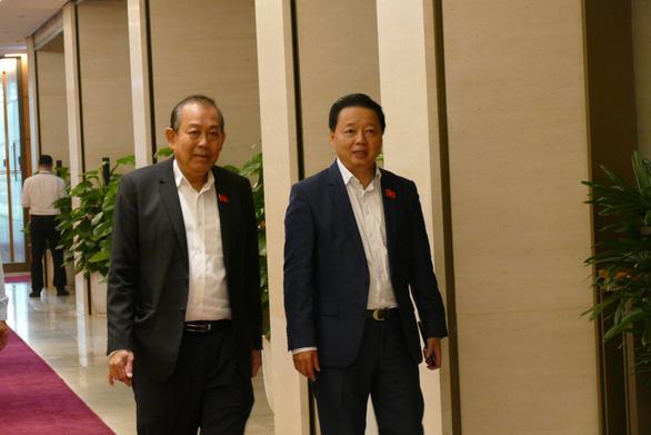 Bộ trưởng Trần Hồng Hà muốn dành ghế Quốc hội cho đại biểu chuyên trách - Ảnh 1.