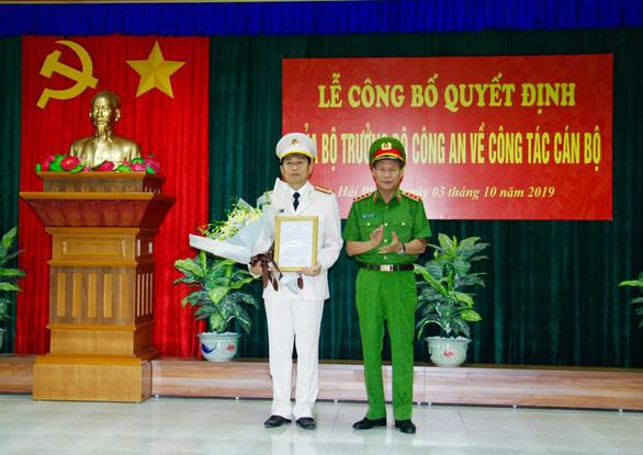 Hai giám đốc Công an Hải Phòng và Hải Dương đảo vị trí cho nhau - Ảnh 2.