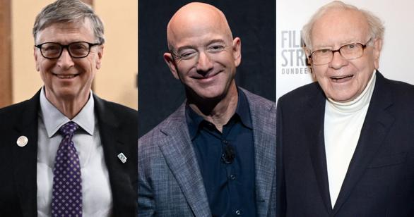 Tỉ phú Jeff Bezos vẫn giàu nhất nước Mỹ, vợ cũ đứng thứ 15 - Ảnh 1.