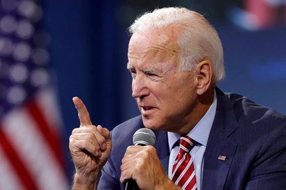 Ông Joe Biden: 'Ông Trump chơi trò bắt nạt vì sợ tôi!' - Ảnh 1.