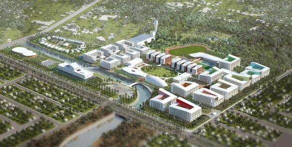 Bến Cát sắp có trung tâm thương mại, đại học quốc tế - Ảnh 2.
