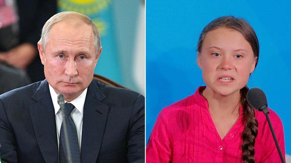 Ông Putin không thích thú với phát biểu của nhà hoạt động môi trường 16 tuổi - Ảnh 1.