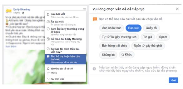 Sử dụng chức năng báo cáo để 'giải cứu' mình trên Facebook - Ảnh 1.