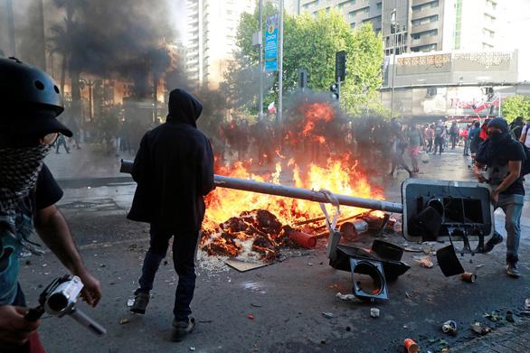 Chile tuyên bố hủy đăng cai tổ chức APEC, COP25 vì biểu tình - Ảnh 1.