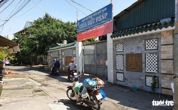 Ghi nhận xử lý ở chùa Diệu Pháp, một nữ thực tập sinh báo Pháp Luật TP.HCM bị hành hung - Ảnh 2.