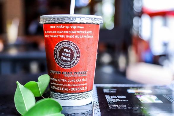Cafe nhượng quyền 0 đồng Nguyen Chat Coffee & Tea dùng 100% ly giấy - Ảnh 6.