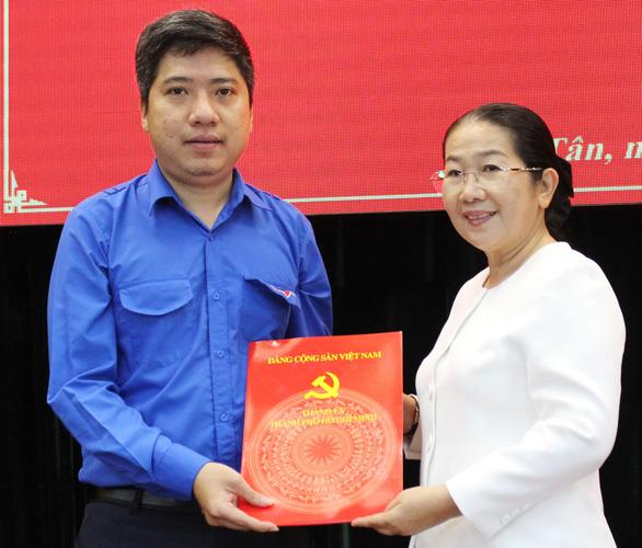 Anh Nguyễn Việt Quế Sơn làm phó bí thư Quận ủy Bình Tân - Ảnh 1.