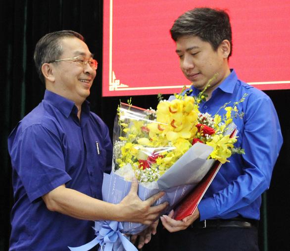 Anh Nguyễn Việt Quế Sơn làm phó bí thư Quận ủy Bình Tân - Ảnh 2.