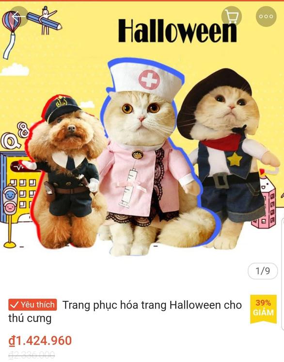 Chơi Halloween, chi tiền triệu cho thú cưng hóa trang - Ảnh 6.