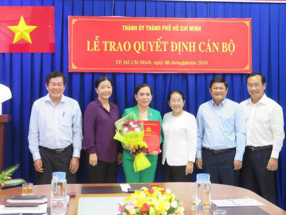 Bà Thái Thị Bích Liên giữ chức bí thư Quận ủy quận 4 - Ảnh 2.