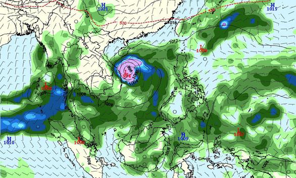 Bão số 5 mới vừa đi qua, Biển Đông có nguy cơ đón bão mới - Ảnh 1.