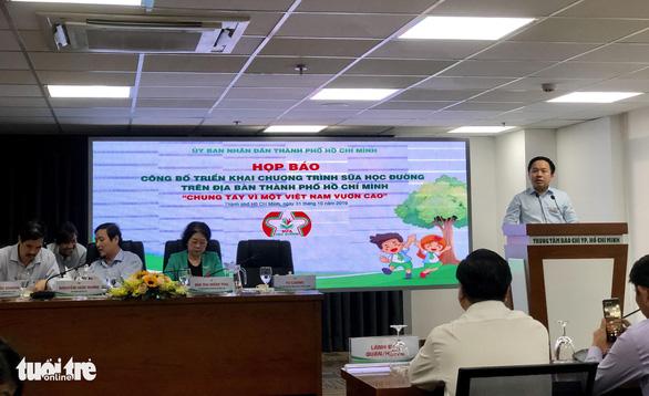 TP.HCM chính thức triển khai chương trình Sữa học đường - Ảnh 1.