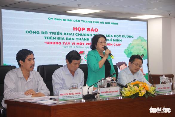 TP.HCM chính thức triển khai chương trình Sữa học đường - Ảnh 2.