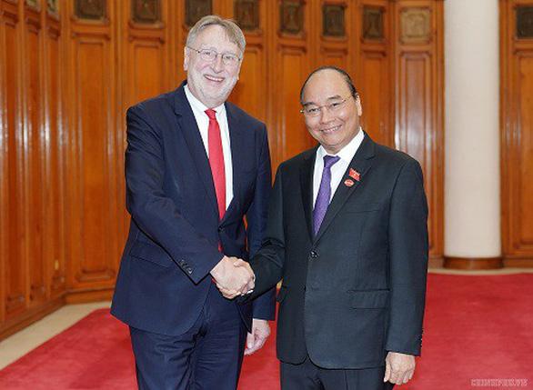 Thủ tướng tiếp đoàn Ủy ban thương mại quốc tế Nghị viện châu Âu - Ảnh 1.