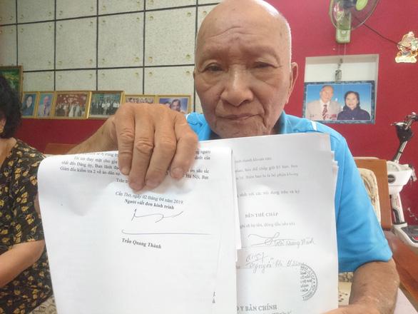 Vụ suýt mất nhà vì bị giả chữ ký: Vi phạm nghiêm trọng thủ tục tố tụng - Ảnh 1.