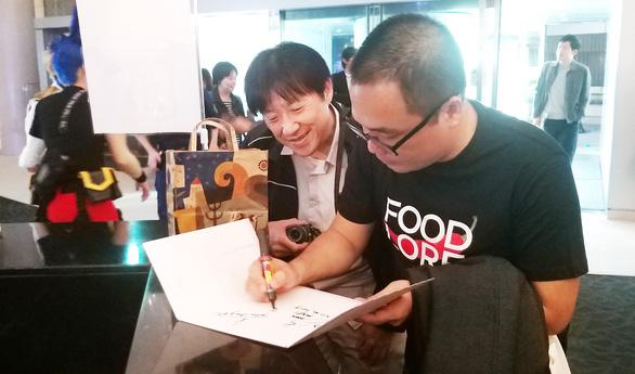 Phan Đăng Di 'làm phim về tình yêu và ẩm thực' - Ảnh 1.