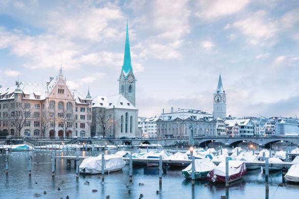 Vẻ đẹp Thụy Sĩ vào mùa đông - Ảnh 4.