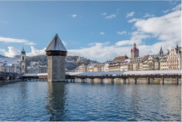 Vẻ đẹp Thụy Sĩ vào mùa đông - Ảnh 2.