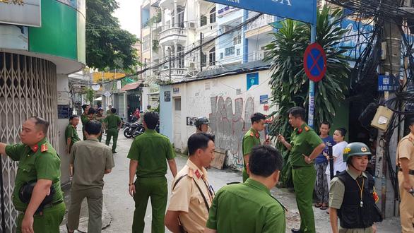 Vụ nhà 29 Nguyễn Bỉnh Khiêm: Thực nghiệm hiện trường, chuyển hồ sơ lên Công an TP.HCM - Ảnh 3.