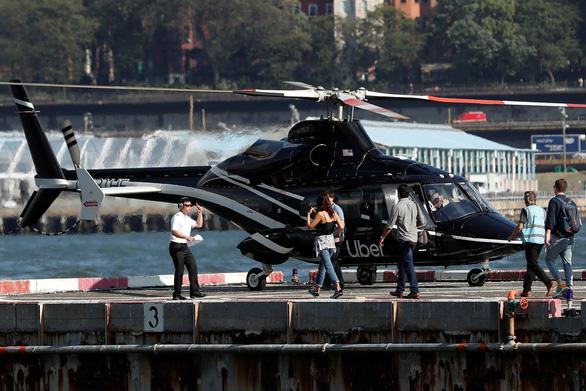 Uber triển khai dịch vụ taxi bay ở New York - Ảnh 1.
