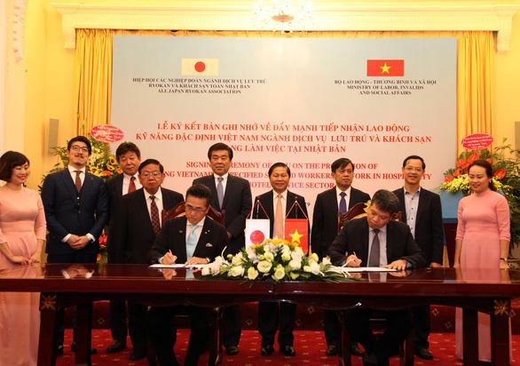 Nhật tạo nhiều cơ hội việc làm cho lao động có kỹ năng của Việt Nam - Ảnh 1.