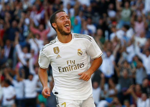 Hazard ghi bàn thắng đầu tiên ở La Liga giúp Real Madrid xây chắc ngôi đầu - Ảnh 1.