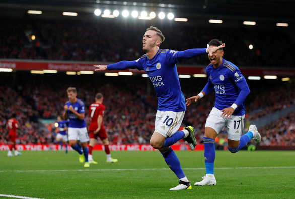 Thắng nghẹt thở Leicester ở phút 90+5, Liverpool bỏ xa M.C 8 điểm - Ảnh 2.