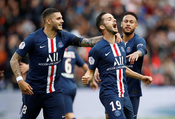 Đè bẹp Angers, PSG vững vàng ngôi số 1 - Ảnh 1.