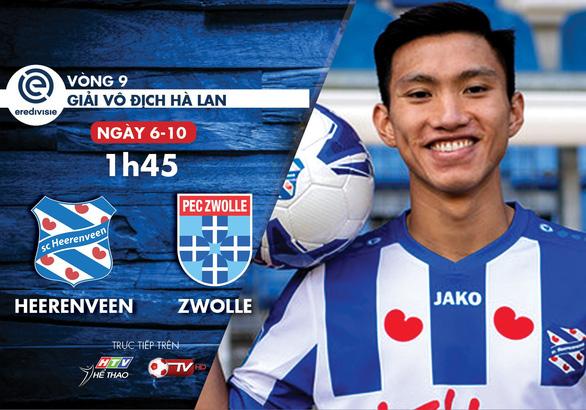 Lịch trực tiếp trận đấu của Văn Hậu tại Hà Lan hôm nay - Ảnh 1.