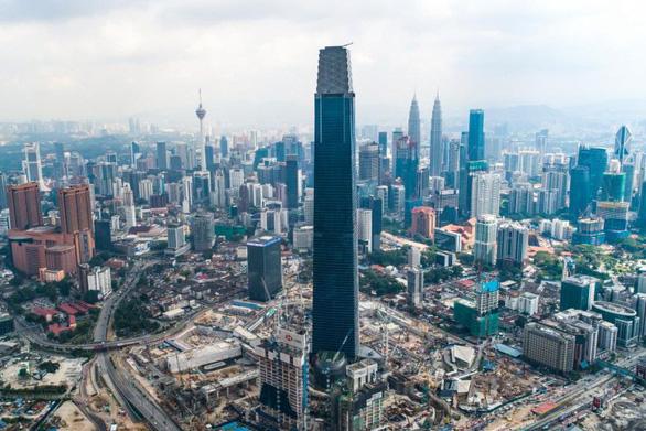 Vượt mặt Landmark 81, tòa tháp ở Malaysia cao nhất Đông Nam Á - Ảnh 1.