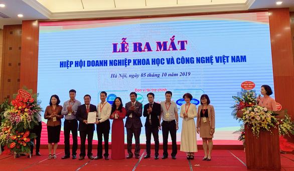 Doanh nghiệp khoa học và công nghệ Việt Nam thành lập hiệp hội - Ảnh 1.