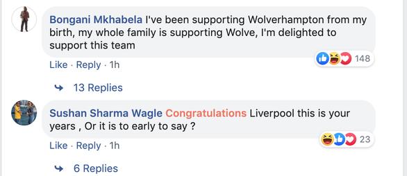 CĐV Liverpool: Tôi đã hâm mộ Wolverhampton suốt nhiều năm... - Ảnh 2.