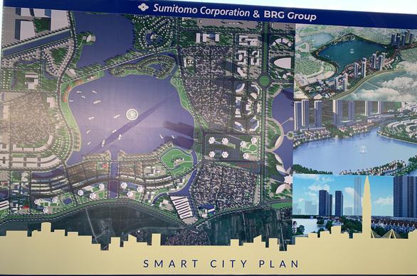 Động thổ dự án thành phố thông minh Bắc Hà Nội 4,2 tỉ USD - Ảnh 2.