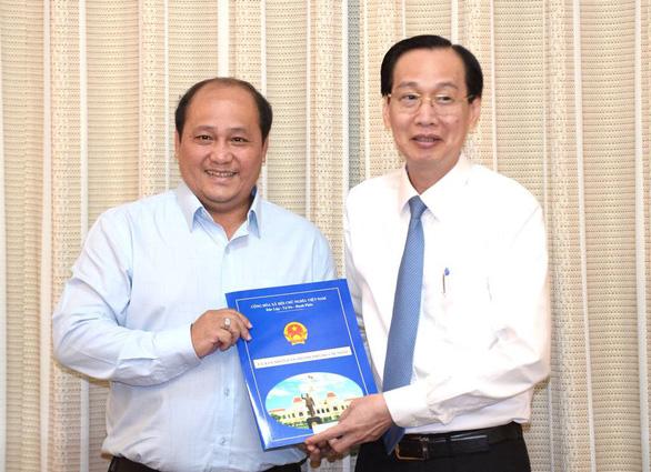 TP.HCM: Phó giám đốc Sở Quy hoạch - kiến trúc làm chủ tịch huyện Nhà Bè - Ảnh 4.