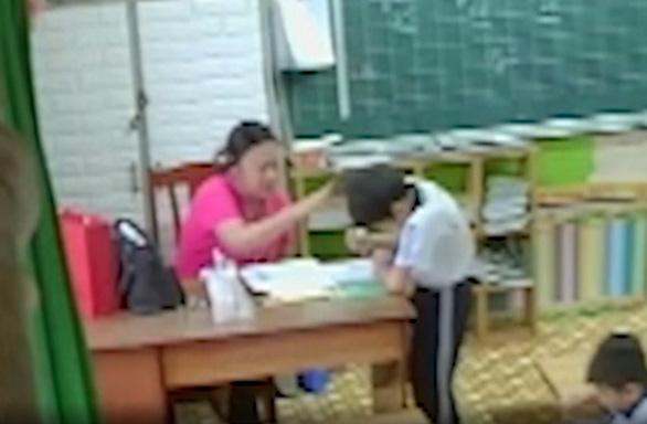 UBND TP.HCM chỉ đạo xử lý nghiêm vụ cô giáo đánh học sinh - Ảnh 1.