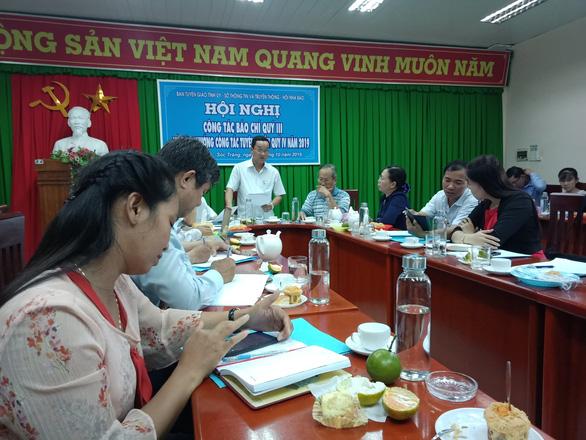 12 ủy viên thường vụ Tỉnh ủy Sóc Trăng trả lại tiền lắp camera - Ảnh 1.