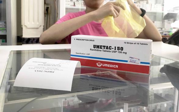 Thuốc dạ dày chứa ranitidine dễ gây ung thư - Ảnh 1.