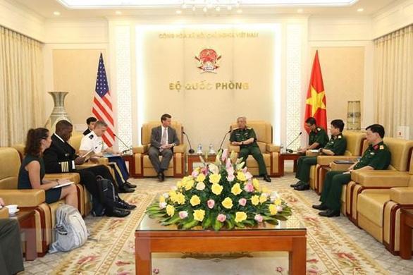 Việt Nam - Mỹ nhất trí tiếp tục thúc đẩy hợp tác quốc phòng - Ảnh 1.