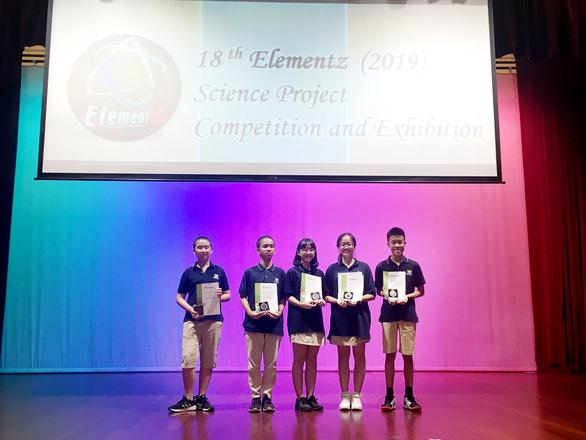 Học sinh Vinschool thắng giải nghiên cứu khoa học quốc tế - Ảnh 1.