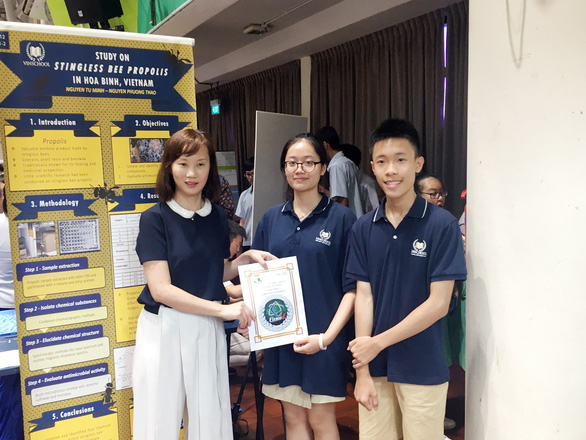 Học sinh Vinschool thắng giải nghiên cứu khoa học quốc tế - Ảnh 3.