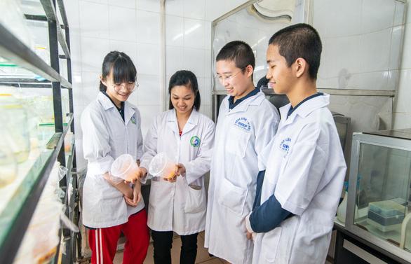 Học sinh Vinschool thắng giải nghiên cứu khoa học quốc tế - Ảnh 4.