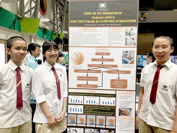 Học sinh Vinschool thắng giải nghiên cứu khoa học quốc tế - Ảnh 5.