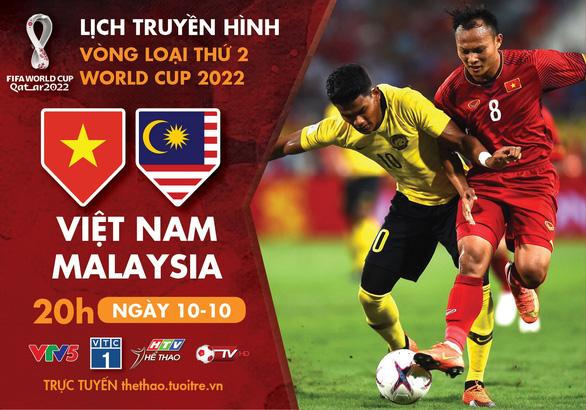 Lịch trực tiếp tuyển Việt Nam - Malaysia, U19 Thái Lan - Việt Nam - Ảnh 1.