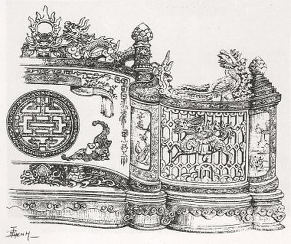 Đấu giá 2 bản sách siêu đặc biệt về nghệ thuật Huế, thu được 54 triệu đồng - Ảnh 3.
