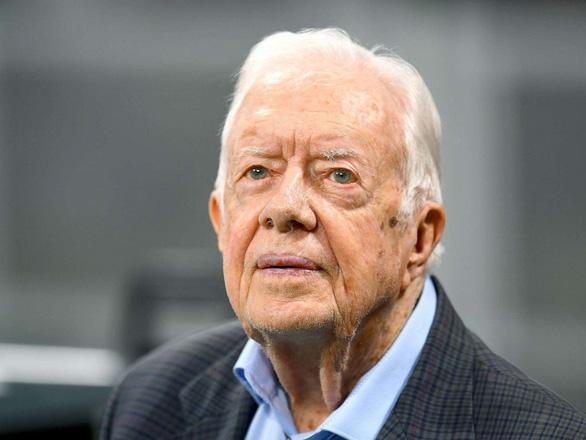 Cựu tổng thống Carter khuyên ông Trump tweet ít lại, nói thật nhiều hơn - Ảnh 1.