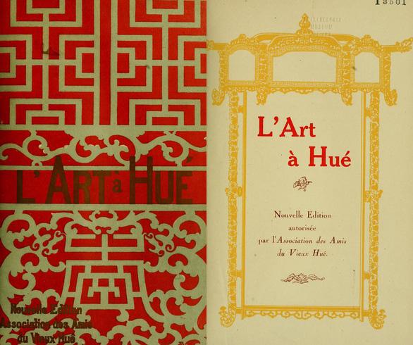 Đấu giá 2 bản sách siêu đặc biệt về nghệ thuật Huế, thu được 54 triệu đồng - Ảnh 2.